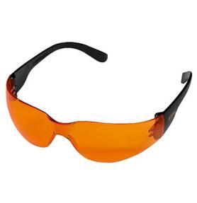 Veiligheidsbril oranje LIGHT (universeel)