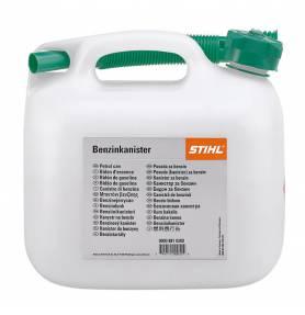 STIHL benzinejerrycan transparant 10 LTR