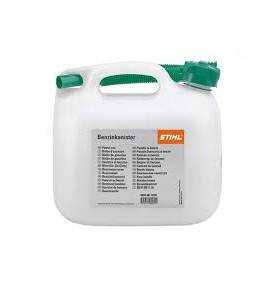 Benzinejerrycan transparant 3 LTR