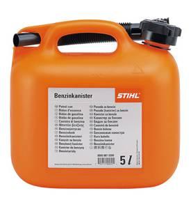 Benzinejerrycan oranje 5 LTR
