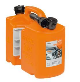 Combi-jerrycan oranje professioneel