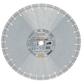 Diamant-doorslijpschijf Natuursteen / beton D-SB80 (Ø400 MM)