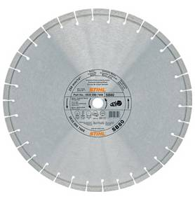 Diamant-doorslijpschijf Natuursteen / beton D-SB80 (Ø350 MM)