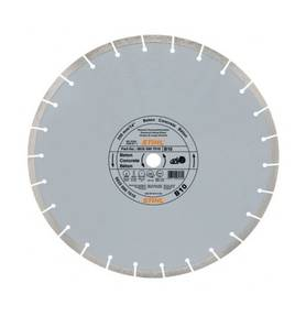 Diamant-doorslijpschijf Beton D-B10 (Ø300 MM)
