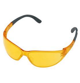 Veiligheidsbril geel CONTRAST (universeel)