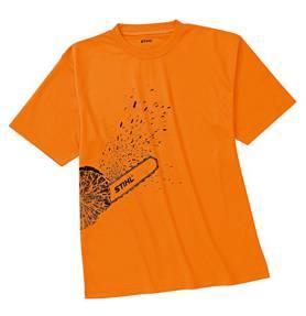 STIHL Werk-T-shirt DYNAMIC Mag Cool fluo oranje