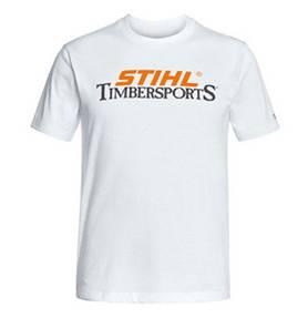 """Stihl T-shirt wit """"TIMBERSPORTS"""""""
