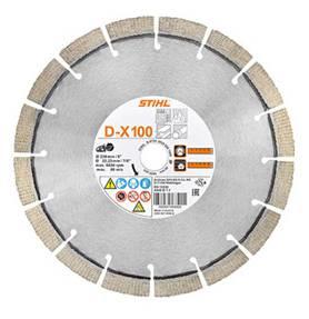 Diamant-doorslijpschijf, beton/natuursteen D-G80 (350mm)