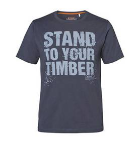"STIHL T-SHIRT ""STAND TO YOUR TIMBER"" HEREN"
