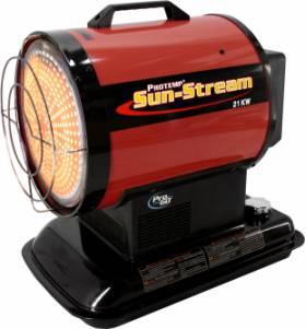SUN-STREAM IR 20 T dieselgestookte infraroodverwarmer + ingebouwde thermostaat